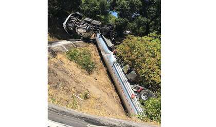 2,100-gallon fuel spill in Marin County investigated by CHP, Dept. of Fish and Wildlife