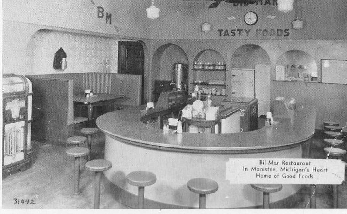 The Bil Mar Restaurant was located at 405 River St. was one of Manistee's popular eateries in the 1940s.