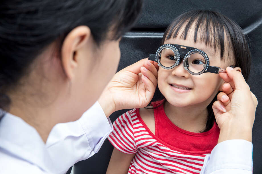 Children can commonly have vision or hearing problems without even realizing it. There are various signs and symptoms parents should watch for — and take note of — that are related to sight or sound, as children most often don't complain about any of these problems. Photo: Shutterstock