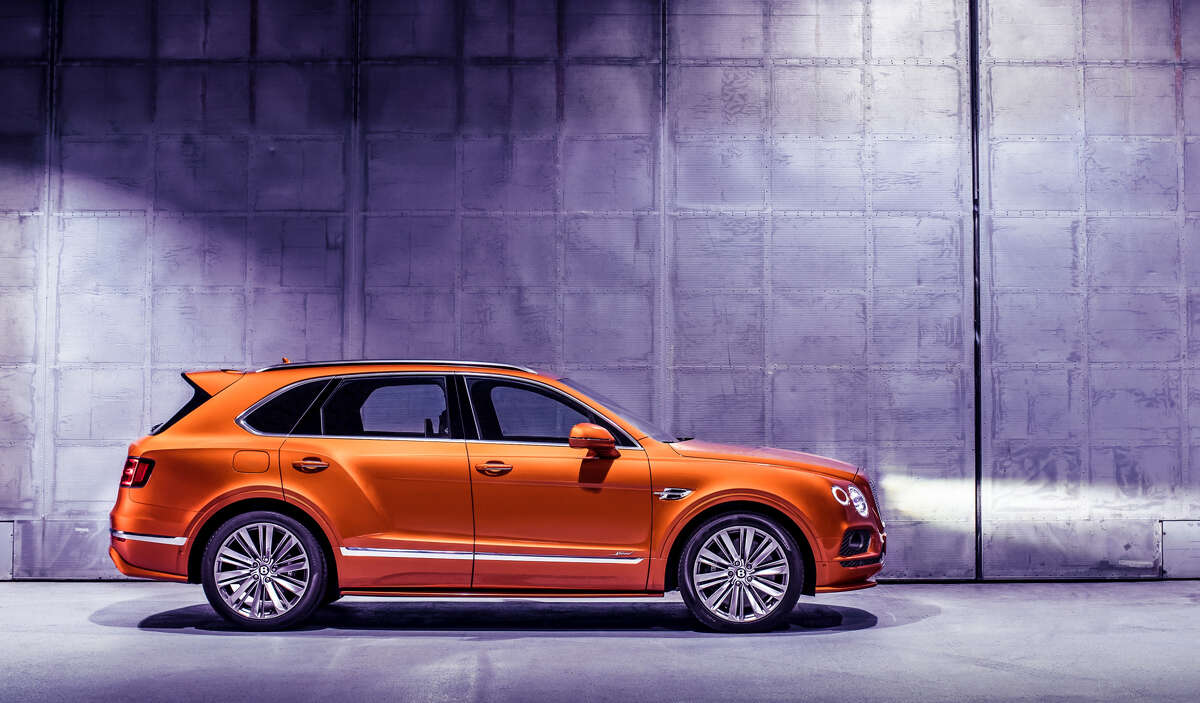 The 2020 limited edition Bentley Bentayga Speed has a starting price at around $179,106.