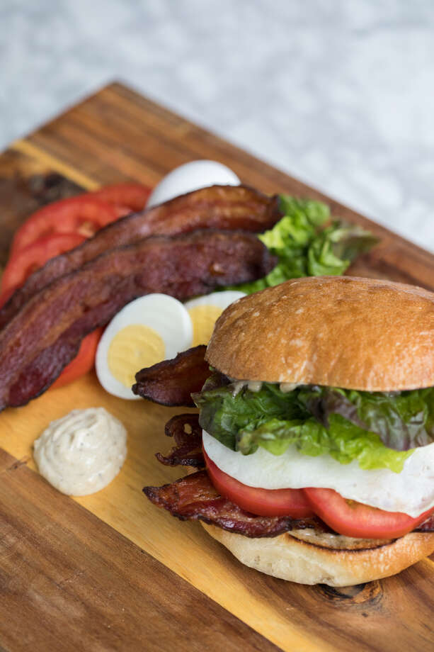 Buckle up for the BELT, Gourmondo's bacon, egg, lettuce, and tomato sandwich, dished out this month at their new cafe on Elliott Bay. Scroll for all the details on the debut, or keep clicking for more 2019 restaurant openings in Seattle. Photo: Jackie Donnelly
