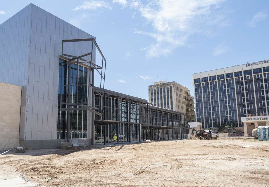 Construction continues on theBarbara and George H.W. Bush Convention Center. The first event planned for the new facility is the Midland Chamber of Commerce's annual meeting. Photo: Tim Fischer/Midland Reporter-Telegram