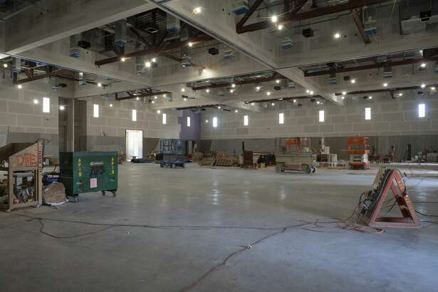 The 20,000-square-foot exhibit hall of the Bush Convention Center will have the ability to be divided into five separate rooms.