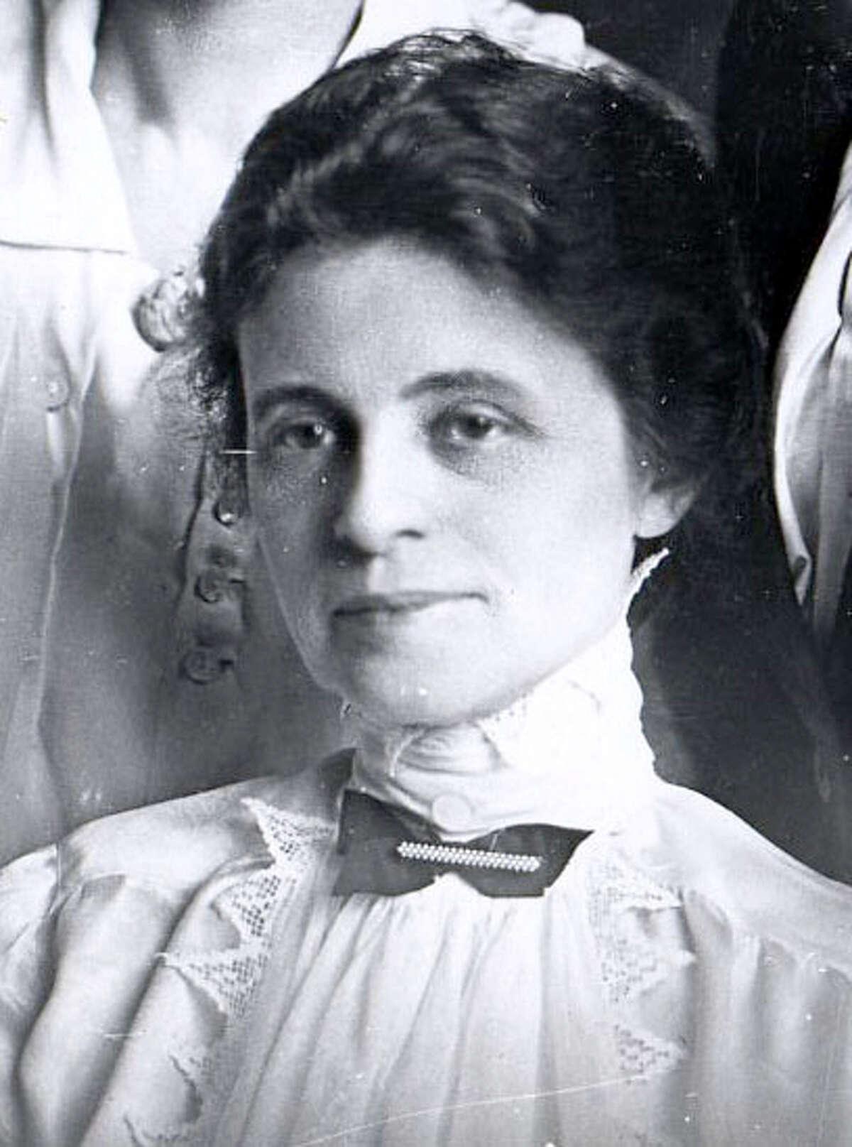 Belle Nye, the former Mrs. John Canfield.