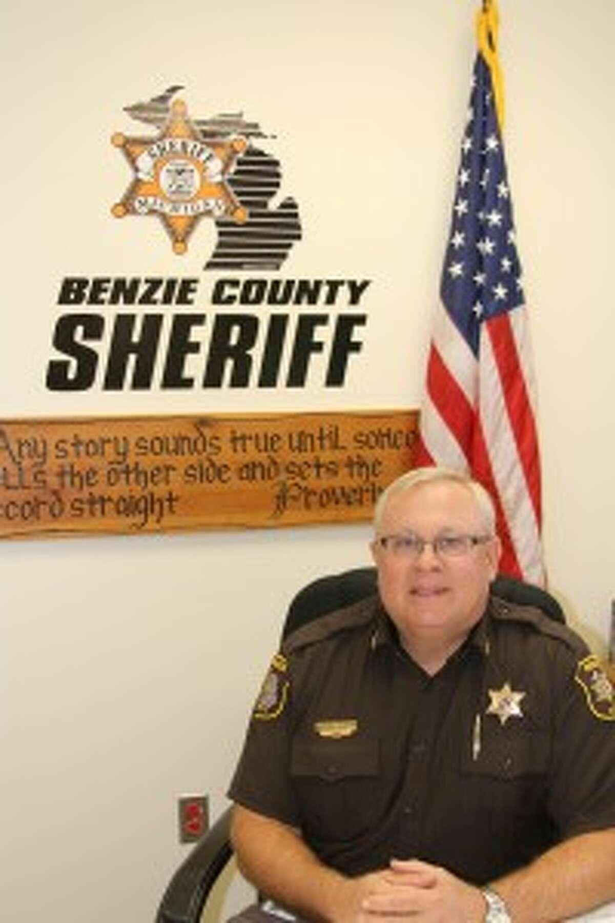 Benzie County Sheriff Ted Schendel