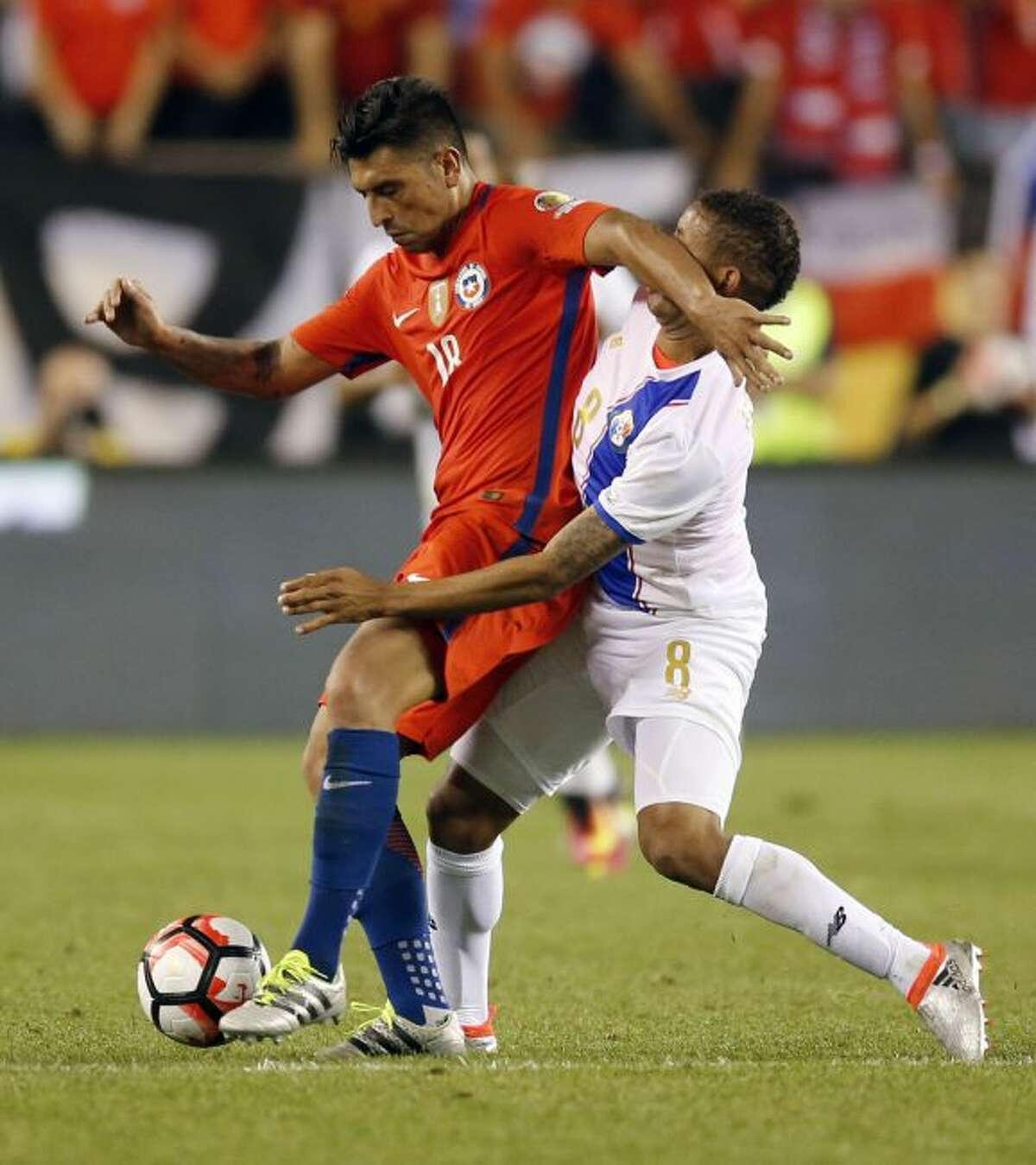 TNS File PhotoChile's Gonzalo Jara fights for a loose ball in the group stages of Copa America.
