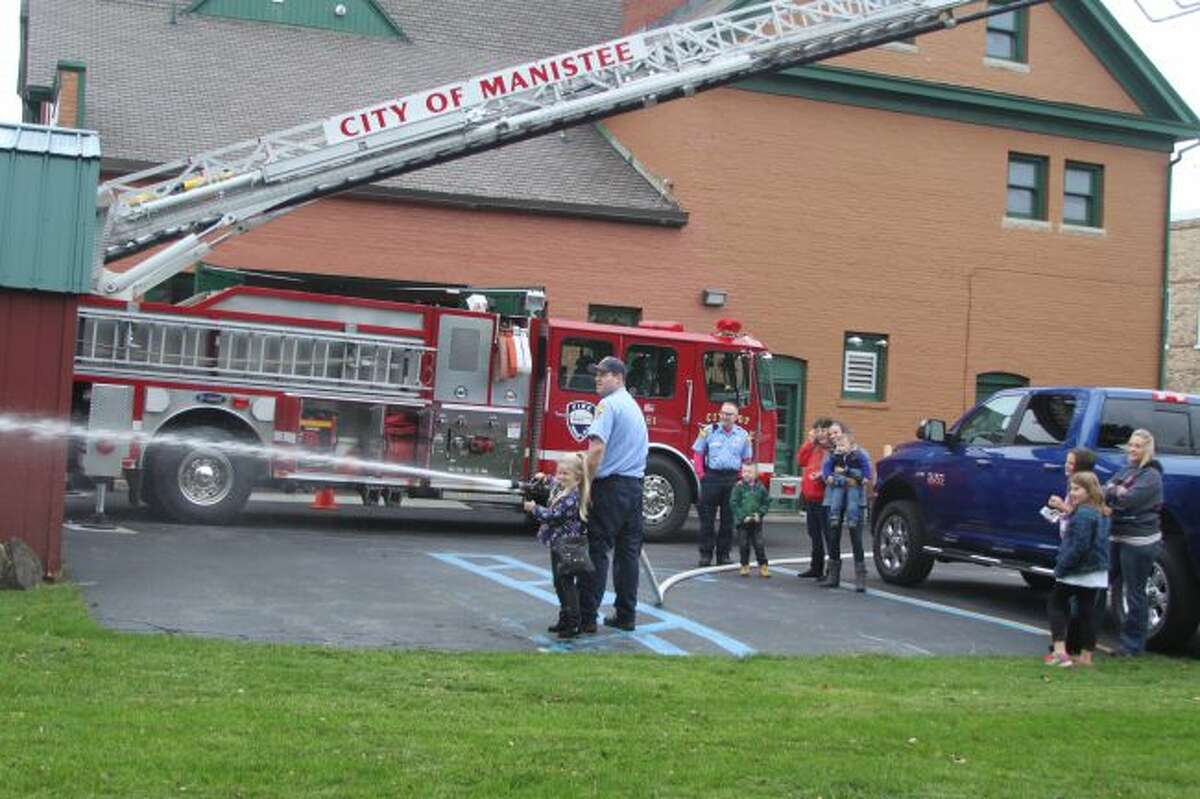 Fire prevention week was celebrated at the City of Manistee fire Station with an open house.