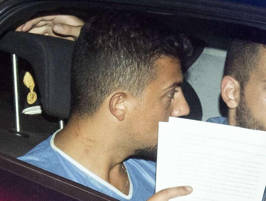 Italian officer in Marin teens murder case under investigation for being unarmed