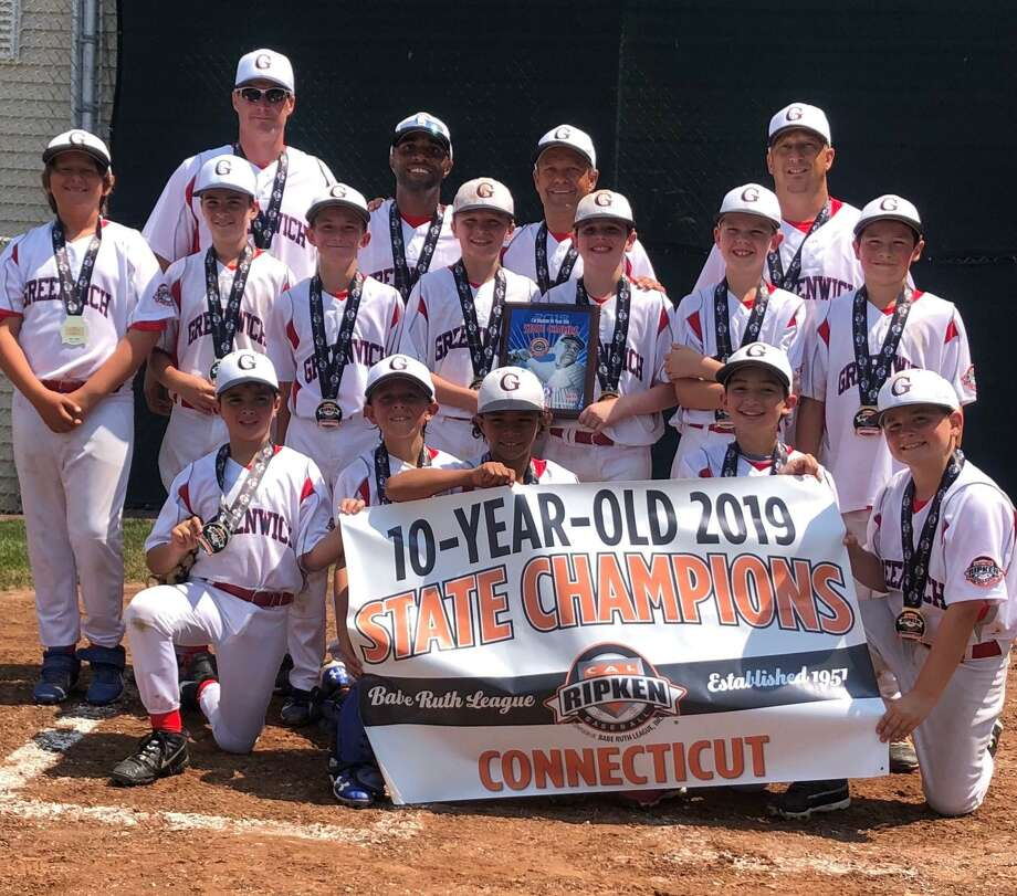 The Greenwich Cal Ripken 10-year-old All-Star team won the District I and State tournament championships recently. Photo: Contributed Photo /