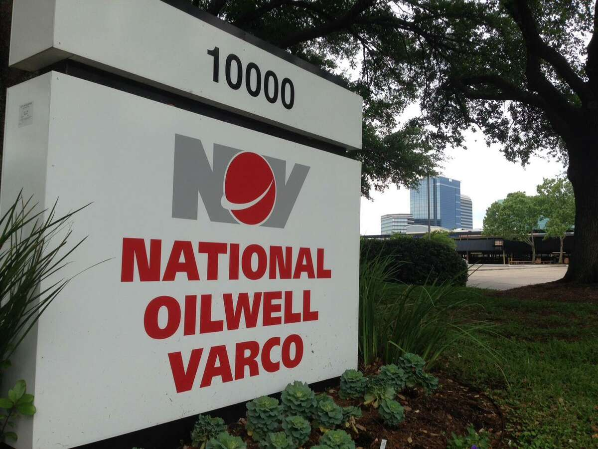 Houston oilfield service company National Oilwell Varco finished up a year of losses $6.1 billion in the red.
