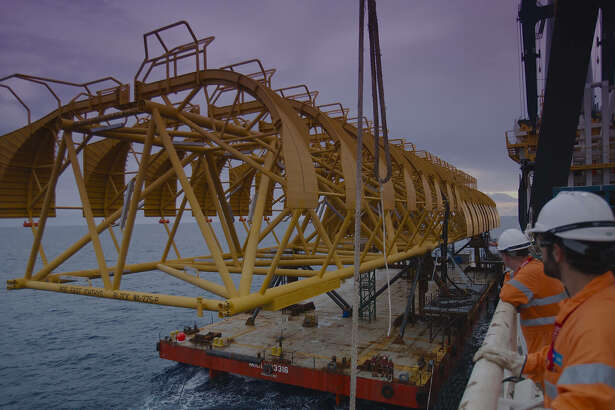 Houston oilfield service companies Baker Hughes and McDermott International have landed contracts to develop Ichthys LNG, a large liquefied natural project off the northwest coast of Australia.