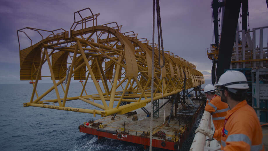 Houston oilfield service companies Baker Hughes and McDermott International have landed contracts to develop Ichthys LNG, a large liquefied natural project off the northwest coast of Australia. Photo: Inpex