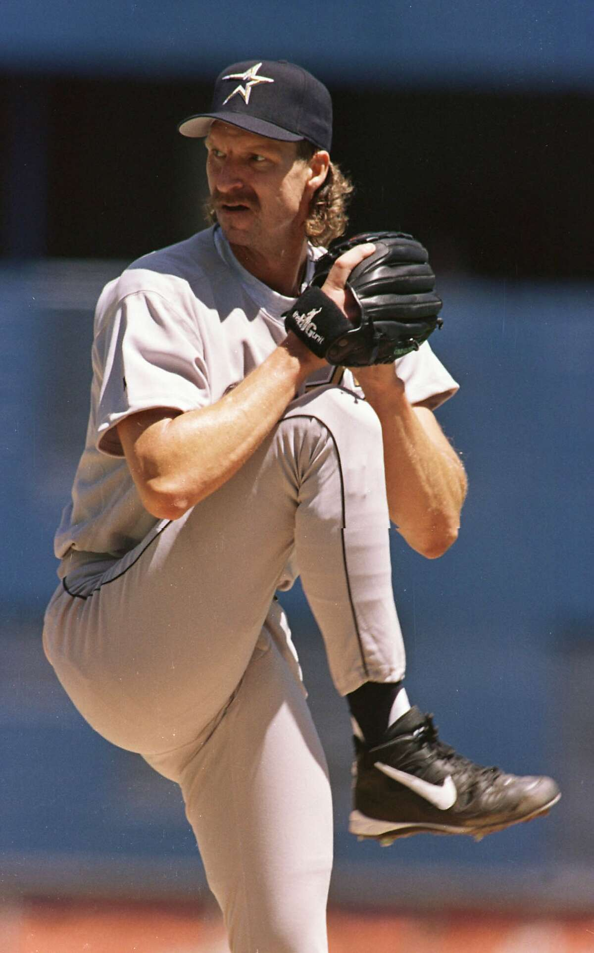 Randy Johnson, but it's one foot tall to show his grandeur