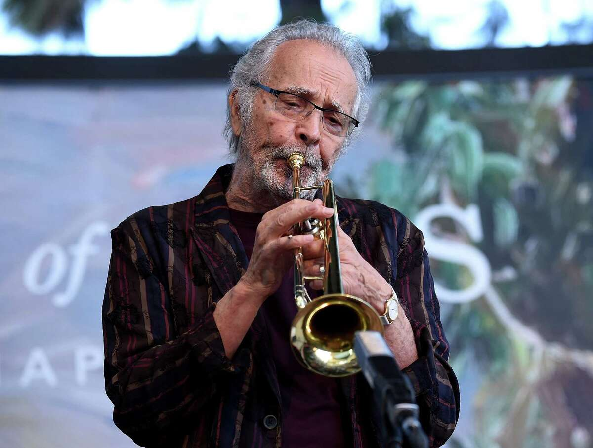LAGUNA BEACH, CA - AUGUST 26: Musician Herb Alpert performs onstage at the Festival of Arts Celebrity Benefit Event on August 26, 2017 in Laguna Beach, California. (Photo by Michael Kovac/Getty Images for Festival of Arts)