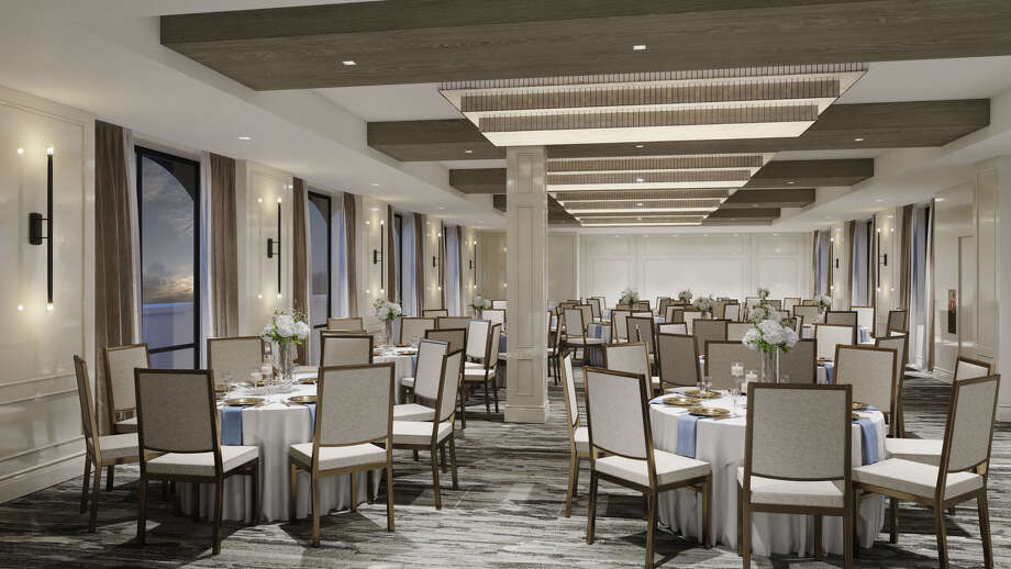 Concord Hospitality announced the opening of Cambria Hotel, Houston Downtown Convention Center in the historic Great Southwest Building at 1314 Texas Avenue. The ballroom is on the top floor. Photo: Concord Hospitality