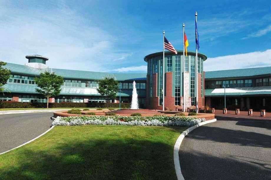 Boehringer Ingelheim's U.S. headquarters in Ridgefield, Conn. Photo: Contributed Photo / Wilton Bulletin