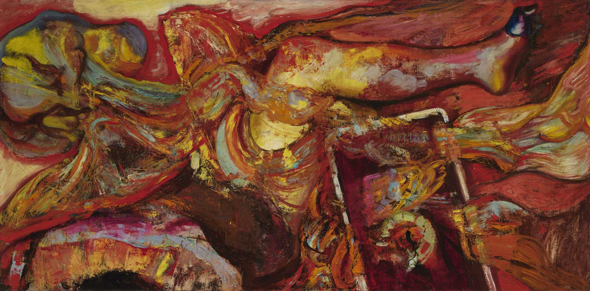 In artist Hyman Bloom's revered body of work, the bodies were cadavers