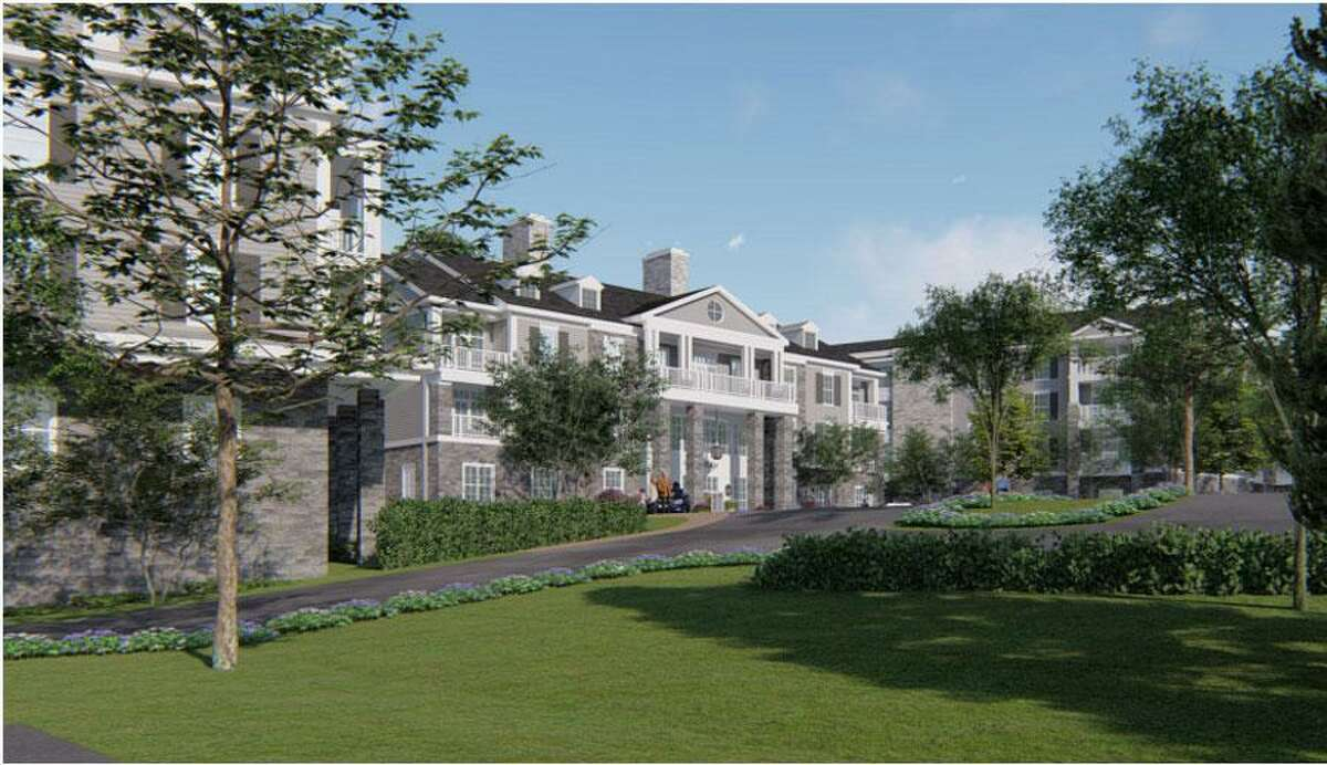 The Waveny LifeCare Network is proposing to construct a 70-unit residential building on 1.5 acres near downtown New Canaan, Connecticut that would include retirement living to allow more seniors to age in place.