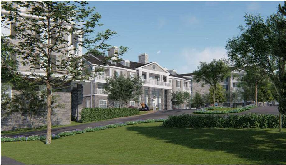 The Waveny LifeCare Network is proposing to construct a 70-unit residential building on 1.5 acres near downtown New Canaan, Connecticut that would include retirement living to allow more seniors to age in place. Photo: Terry Henry / Waveny LifeCare Network