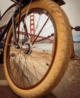 Biking to the Golden Gate by @mattymort_