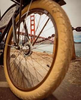 Biking to the Golden Gate by @mattymort_
