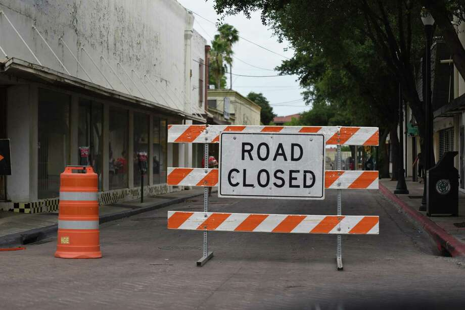 Ridgefield's Old Quarry Road is shut down as of 1 p.m. Wednesday, July 31. A gas line was hit during construction earlier in the day. Fire crews are on scene. Photo: Christian Alejandro Ocampo / Laredo Morning Times / Laredo Morning Times