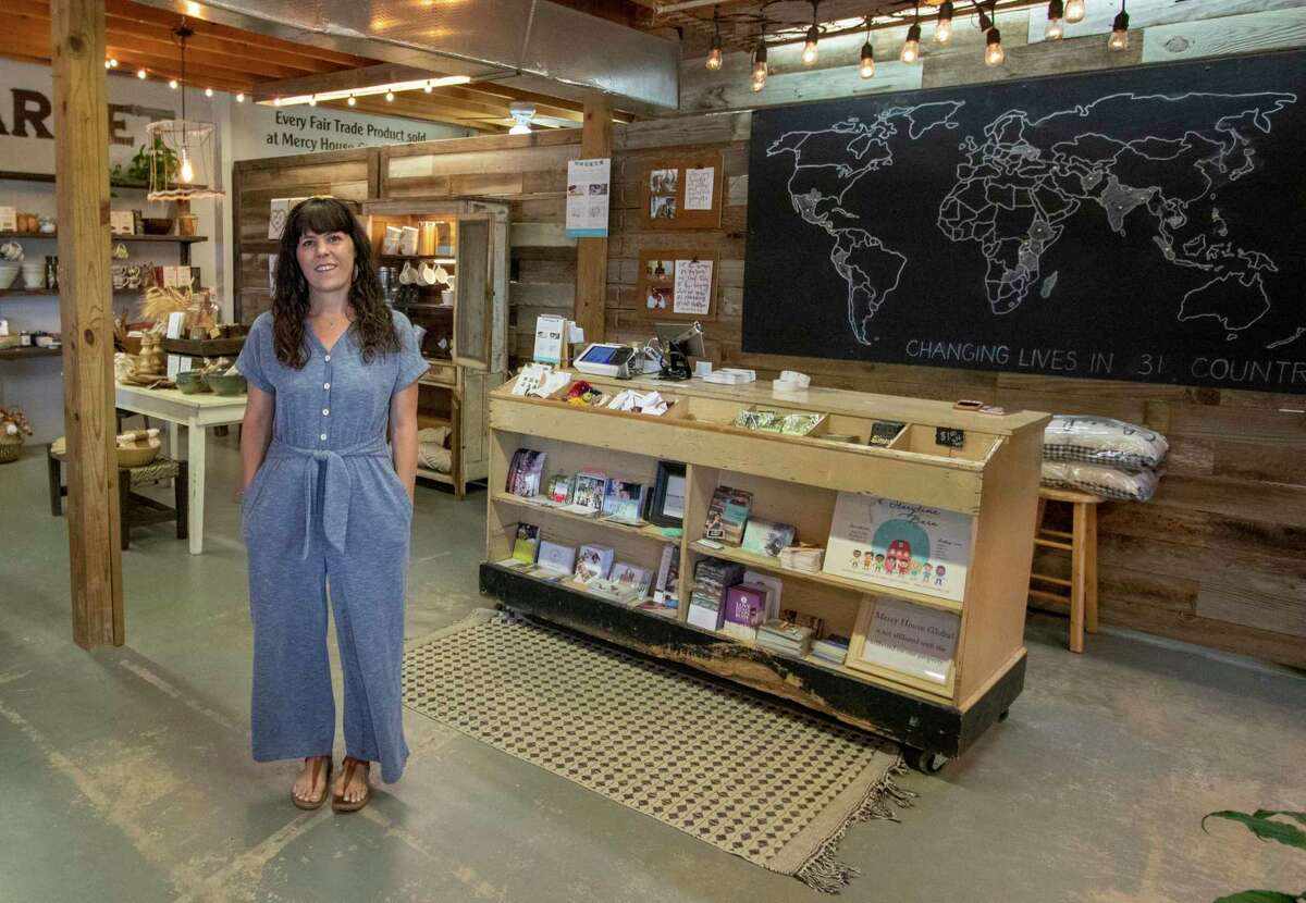 Mercy House Global founder Kristen Welch poses Tuesday, July 30, 2019 at Mercy House Global Market in Magnolia.
