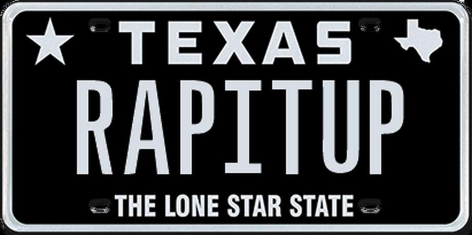 >>Check out the most offensive, disturbing, gross, clever and humorous rejected Texas license plates from 2018. Photo: Texas Department Of Motor Vehicles