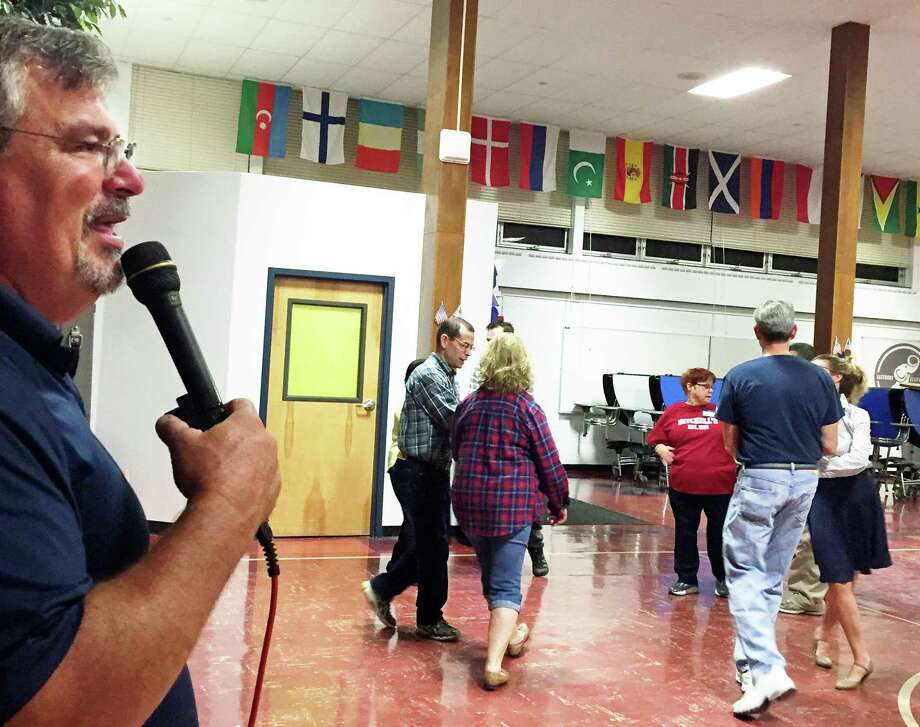 One of the most popular square dance callers in Connecticut, Bill Mager, will be leading an event in East Hampton Aug. 25. Photo: Contributed Photo