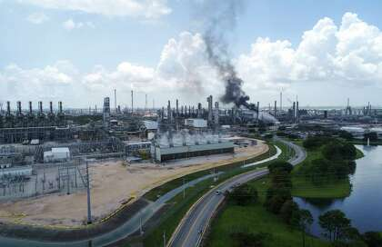 Harris County sues Exxon Mobil after fire that injured 37
