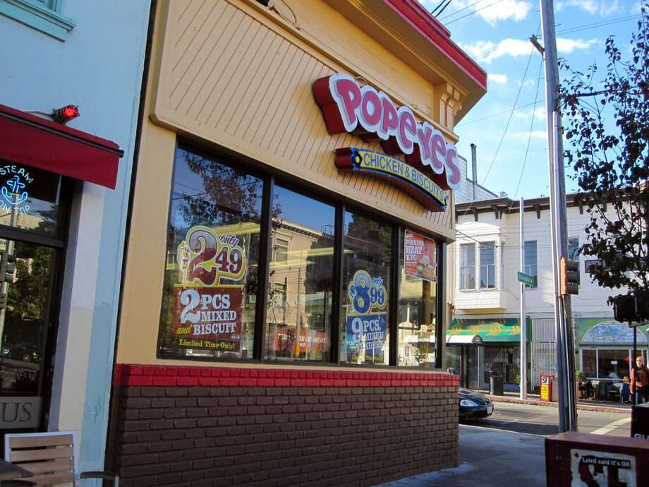 """San Francisco Department of Public Health shut down Popeyes Louisiana Kitchen on Divisadero St. on Tuesday for having """"major violations"""" that were an """"immediate danger to public health or safety."""" Photo: Photo By Kevin Y. On Yelp"""