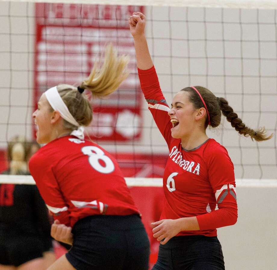 Splendora setter Allie Jones was named the District 21-4A Co-Specialty Player of the Year last season. She is one of the Ladycats' top returners. Photo: Jason Fochtman, Houston Chronicle / Staff Photographer / © 2018 Houston Chronicle