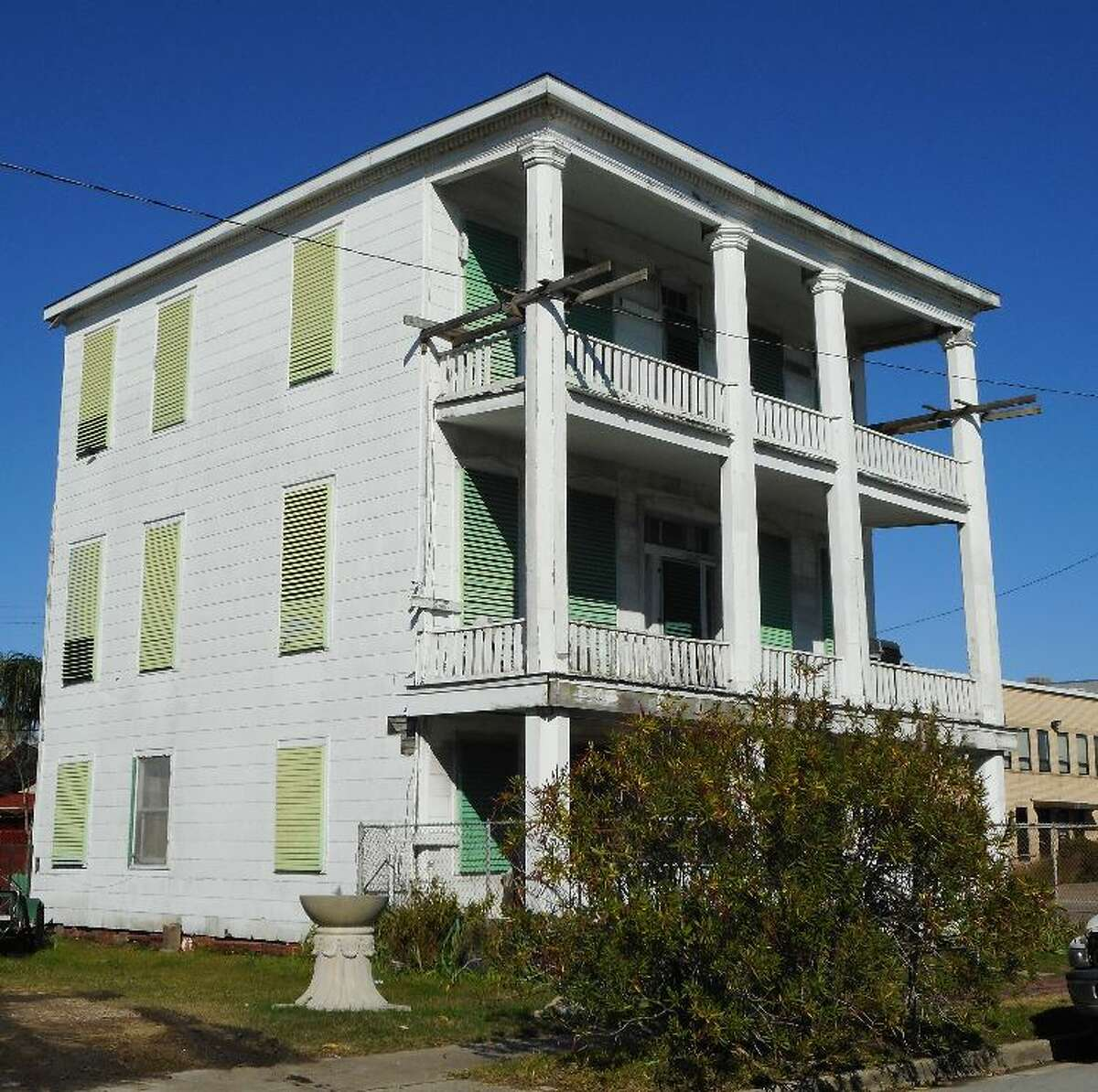 Historic Galveston Homes And Structures Placed On Endangered List