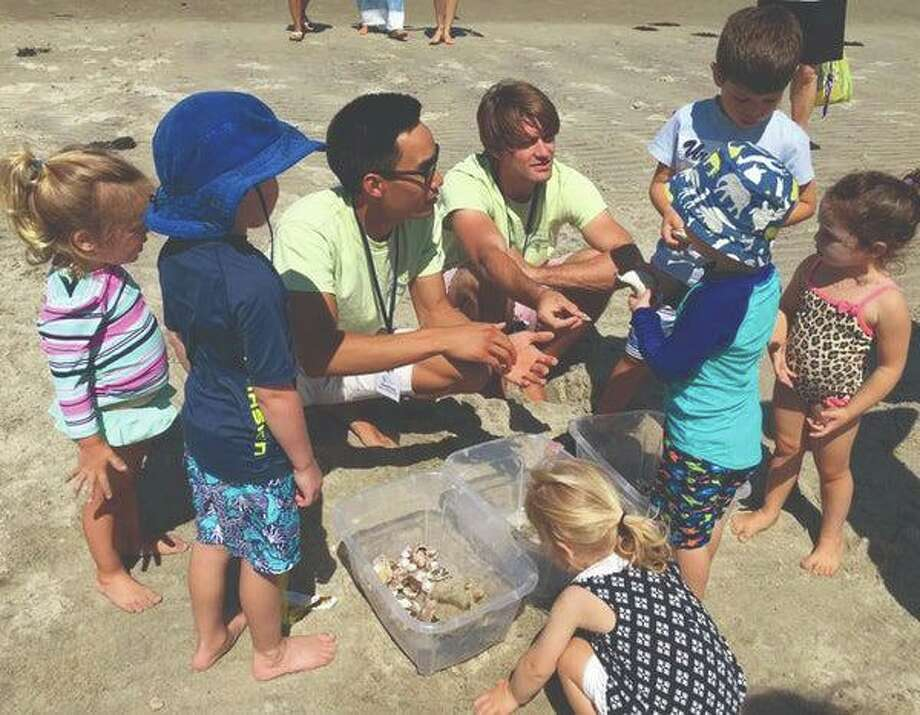 The Greenwich Newcomers Club's playgroup is hosting a special indoor/outdoor Kids at Play event at the Bruce Museum Seaside Center at Tod's Point in Old Greenwich Aug. 2. Photo: Greenwich Newcomers Club