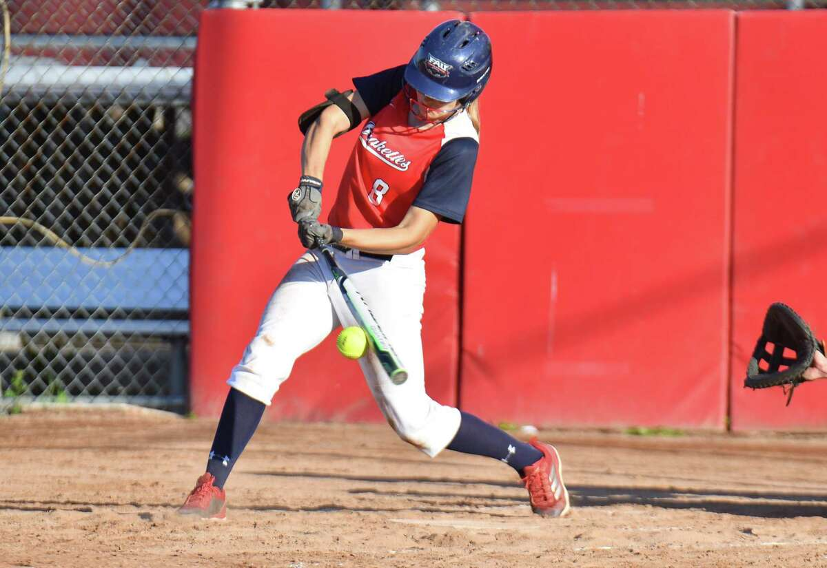 The Brakette's Jolie Duffner has played in all 41 games this season and has a. 517 batting average.