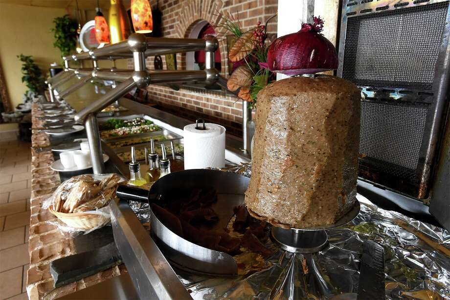 The newly opened buffet at Al Basha in Beaumont offers a variety of Mediterranean flavored meats, vegetables and breads. 