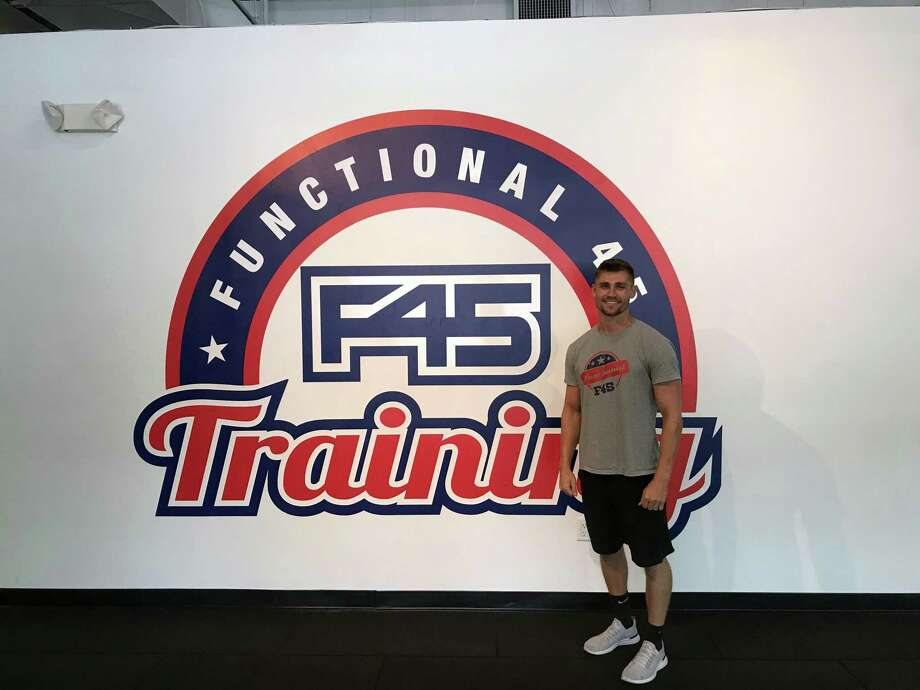 Brian Trainor, owner of F45 Training in Westport. Taken July 31, 2019 in Westport, CT. Photo: Lynandro Simmons/Hearst Conneticut Media