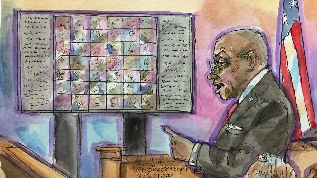 Prosecutor Autrey James gives a rebuttal during closing arguments of the Ghost Ship trial on Wednesday, July 31, 2019 in Oakland, Calif.