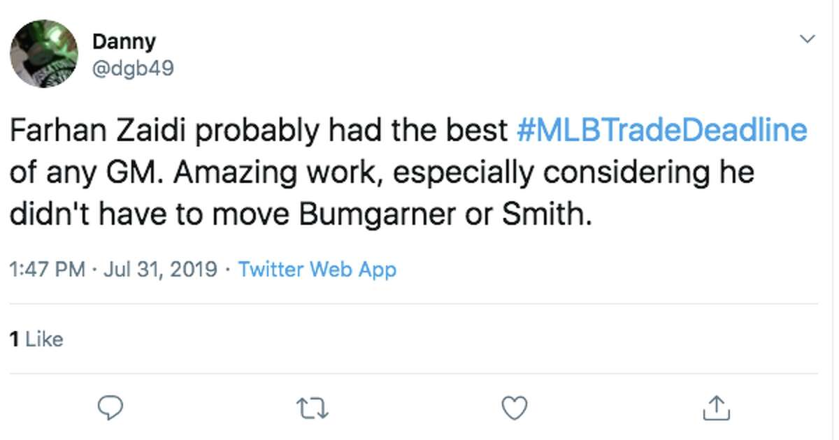 Click through the slideshow to see reactions to the Giants' 2019 trade deadline activity. San Francisco Giants fans react to the team's 2019 trade deadline activity.