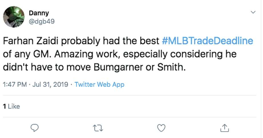 Click through the slideshow to see reactions to the Giants' 2019 trade deadline activity. San Francisco Giants fans react to the team's 2019 trade deadline activity. Photo: Twitter