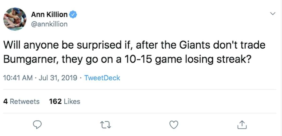 San Francisco Giants fans react to the team's 2019 trade deadline activity.