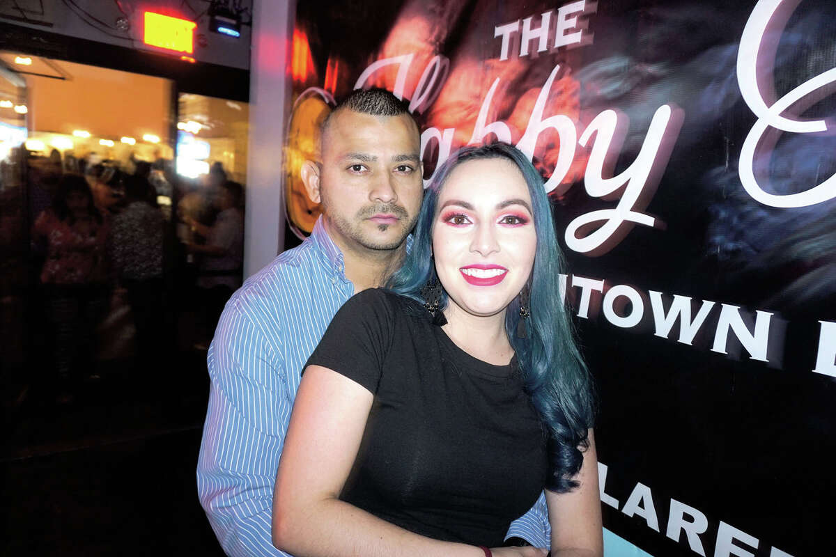 Justin and Berenice Martinez at The Happy Hour Downtown Bar