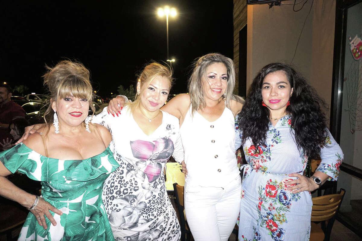 Lulu Galvan, Navila Samanti, Monica Reyes and Imelda Ibarra at Costa Grill