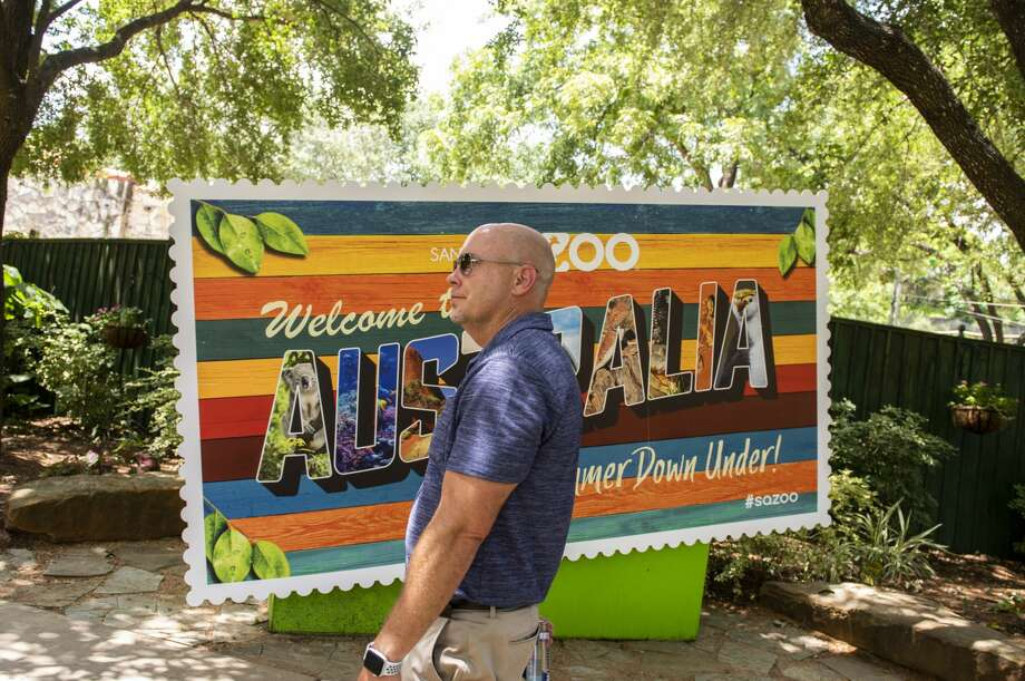 Tim Morrow, who spent nearly 20 years at SeaWorld and about four years at Six Flags Fiesta Texas, is seeking to inject excitement into the 105-year-old San Antonio Zoo. Photo: Carlos Javier Sanchez