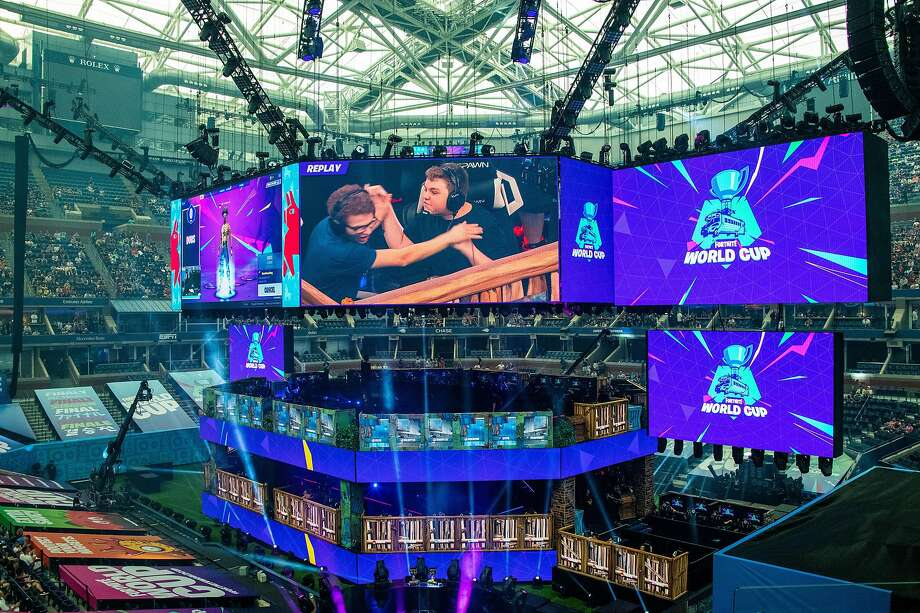The Fortnite World Cup attracted participants and crowds last month at Arthur Ashe Stadium in New York. Photo: Photos By Brian Finke / New York Times