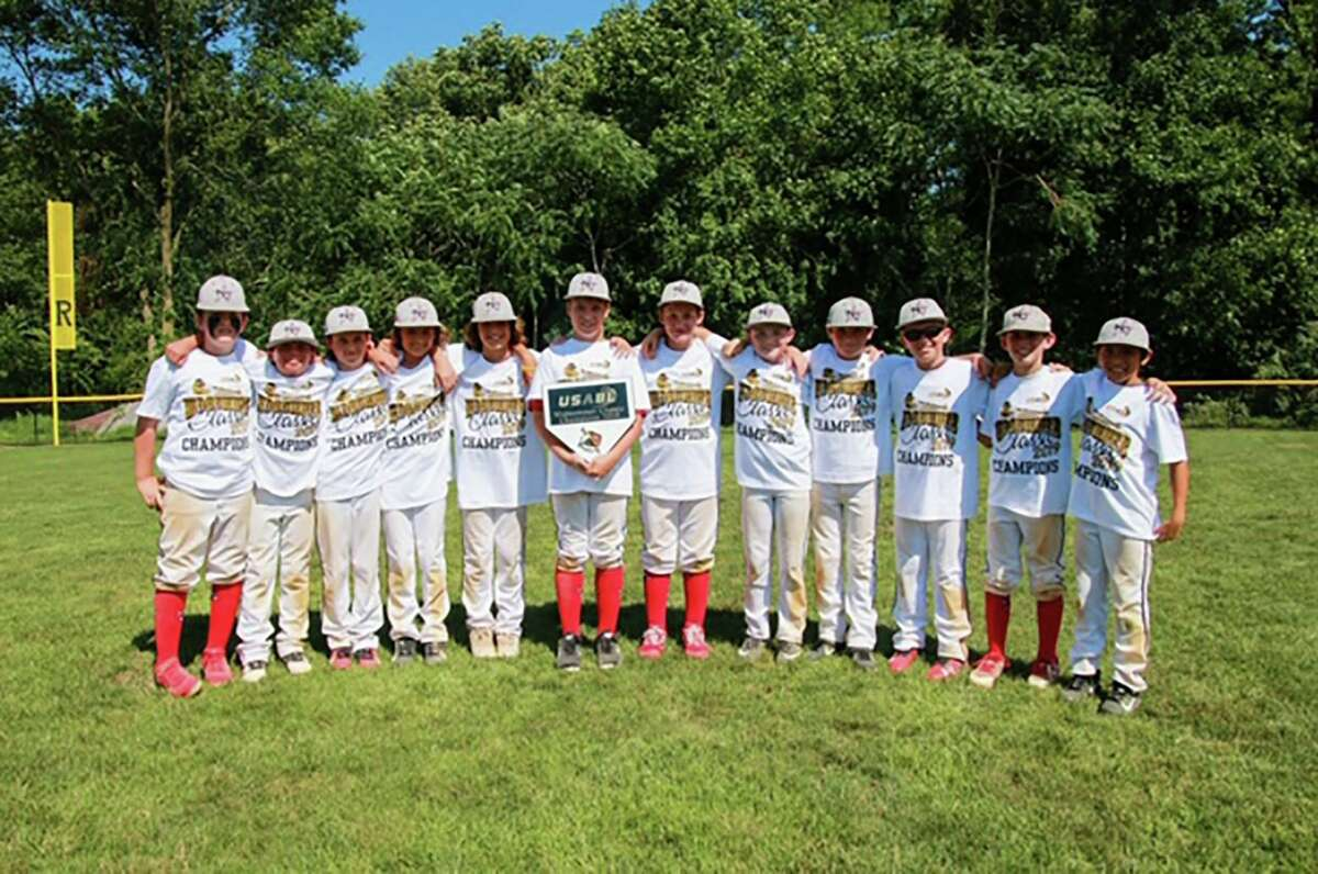 The New Canaan 10-year-old All-Star team poses for a picture after one of its many wins this year. The Rams are playing in the Cal Ripken World Series in Phenix City, Ala., this week.