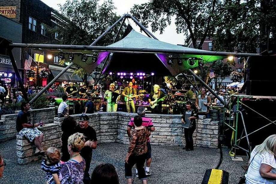 Members of Chicago-based, New Orleans-style zydeco band Hurricane Gumbo make a mission of bringing the party with them to their shows. They'll be in concert Friday on the downtown Jacksonville square. Photo: Photo Provided