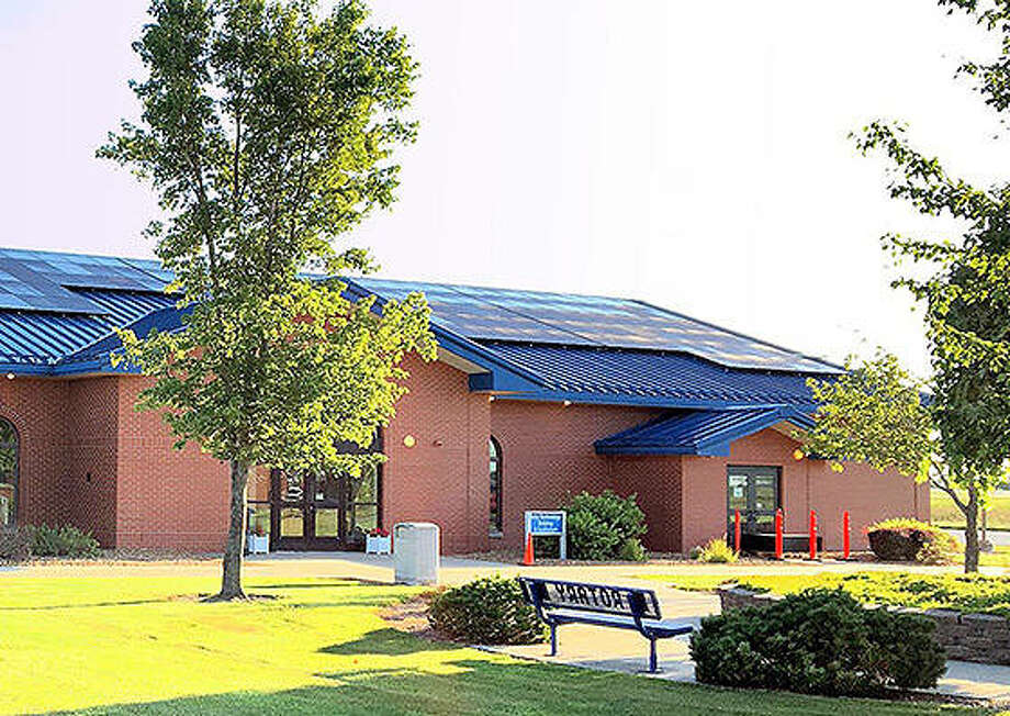 Solar panels installed at the Litchfield campus of Lincoln Land Community College will be providing electricity to the school's buildings. A similar project will start next week in Jacksonville. Photo: Photo Provided