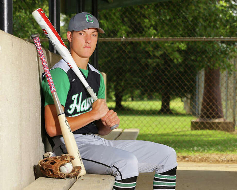 Carrollton's Nathan Walker is the 2019 Telegraph Small-Schools Baseball Player of the Year after hitting .546 with nine homers and 51 RBIs as a senior for the 26-9 Hawks. Photo: Billy Hurst / For The Telegraph