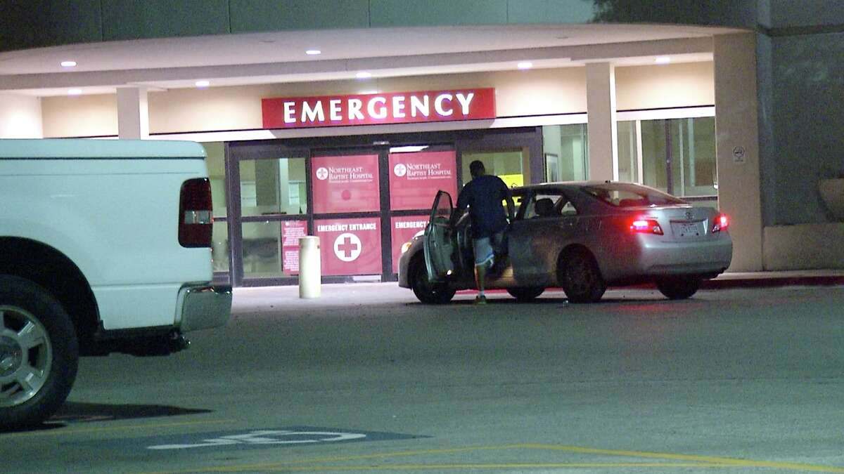 A man was taken to a local hospital with serious injuries after he was shot in the neck overnight in Northeast Bexar County.